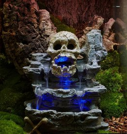 Zoo Med Zoo Med Repti Rapids LED Waterfall - Skull Style - Medium