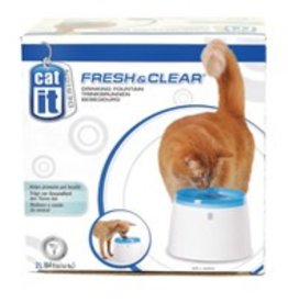 Catit Catit Design Fresh & Clear Cat Drinking Fountain - 2 L (64 oz)
