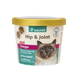 NaturVet Naturvet Cat Soft Chew Hip & Joint Plus 50ct