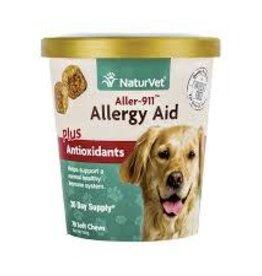 NaturVet Naturvet Dog Soft Chew Allergy Aid + Immune 70ct