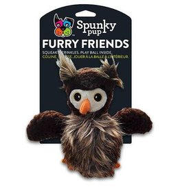 Spunky Pup Spunky Pup Owl with Ball Squeaker