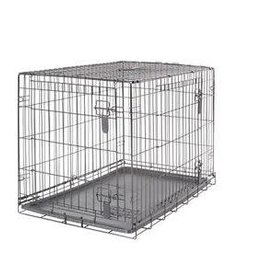 Dogit Dogit Two Door Wire Home Crates with divider - Medium - 77 x 48 x 54.5 cm (30 x 19 x 21.5 in)