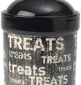 Petrageous Petrageous Treat Jar - Black Vintage