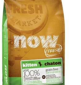 NOW Fresh Grain Free Kitten Formula 4lb