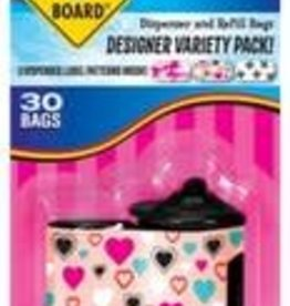 Bags on Board Bags on Board Designer Variety Dispenser 30ct