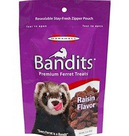 Marshall Bandits Premium Ferret Treat - Raisin Flavor - 3 oz
