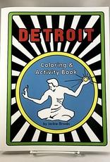 Jackie Brooks Jackie Brooks - Detroit Coloring & Activity Book