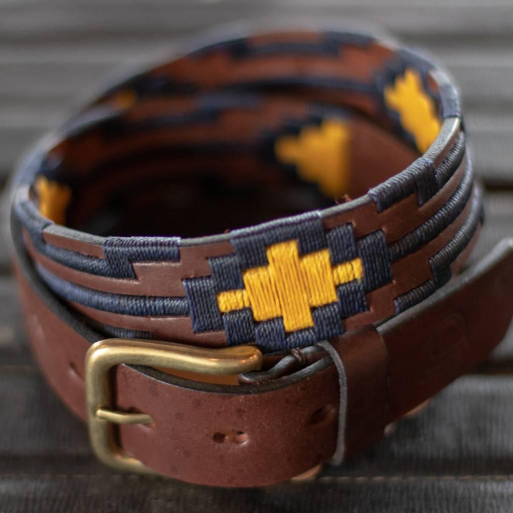 Arandu Blue and Yellow Belt