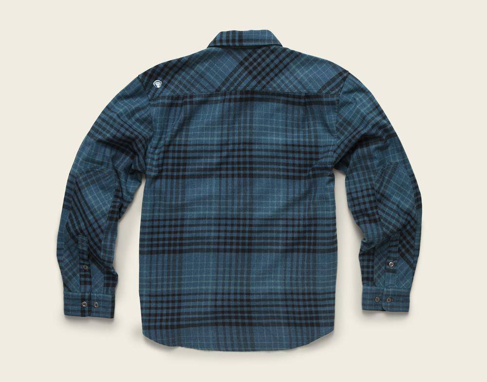 Howler Brothers Harkers Flannel Shadow Plaid