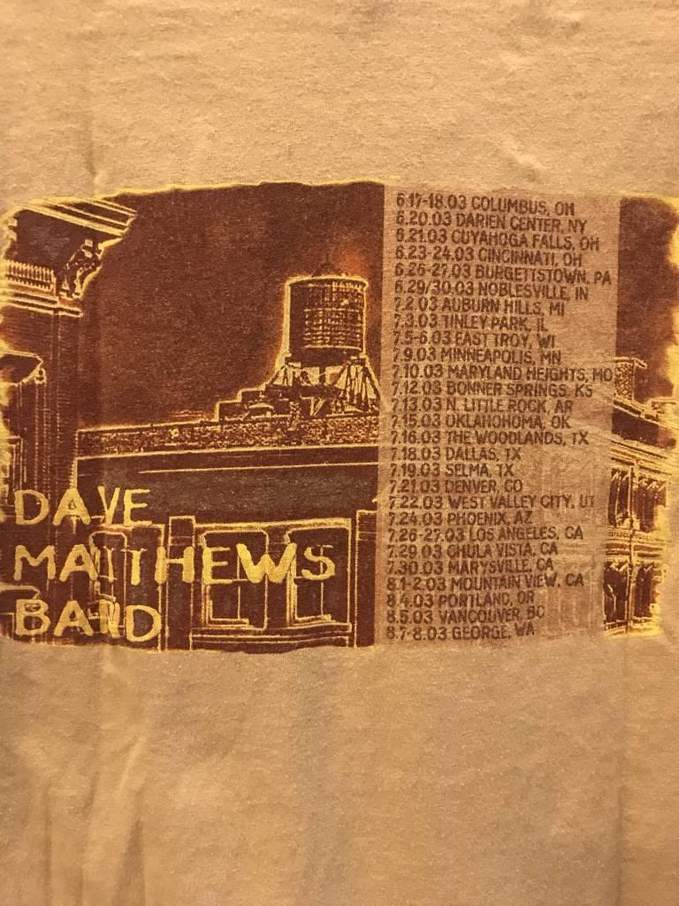 Vintage Dave Matthews Band Summer 2003