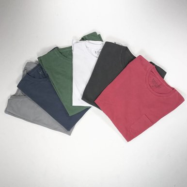 Pocket Crew Neck