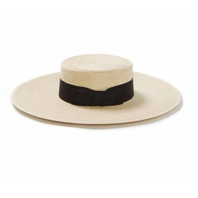 The Sunny Straw Boater Hat