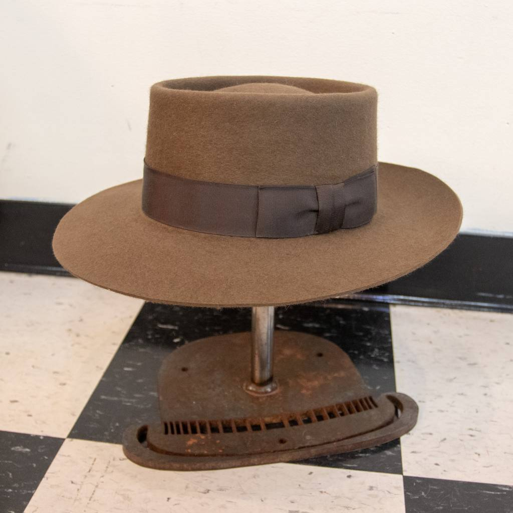Griffin Hatters Django w/ Beaver Fur Felt
