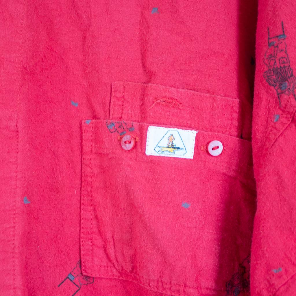 Vintage Painters Red Shirt
