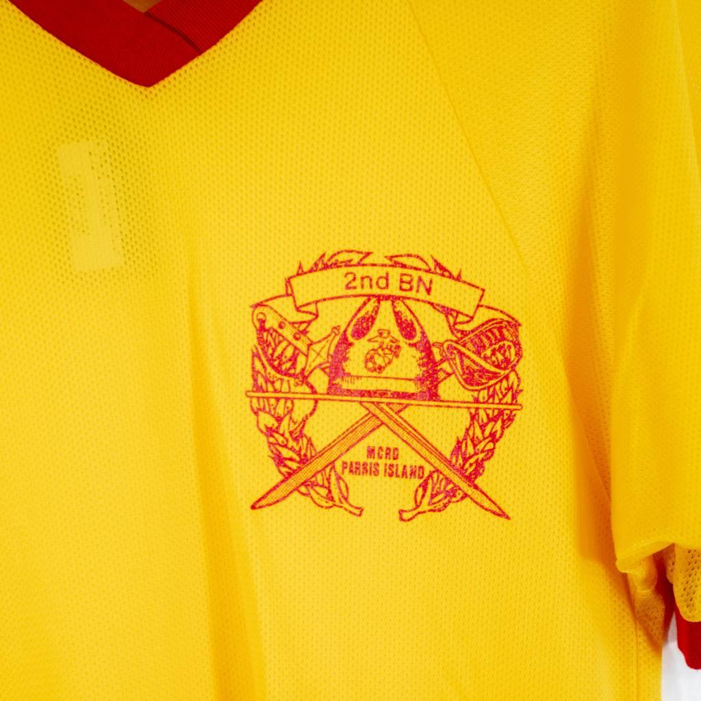 Yellow Marines Recruit Parris Jersey