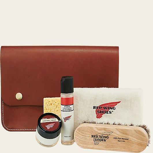 Red Wing Leather Travel Cleaning Kit