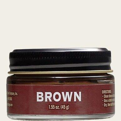 Boot Cream Brown