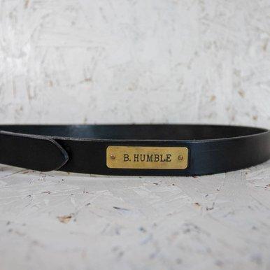 Nameplate Belt