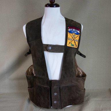 Suede Shooting Vest
