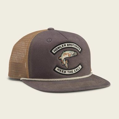 Trout Charcoal Snapback