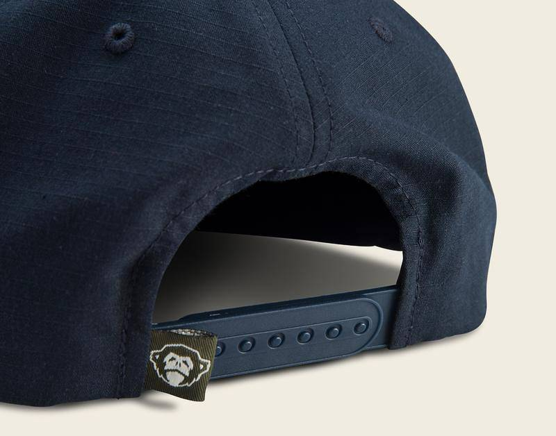 Howler Brothers Hermanos Unstructured Navy Snapback