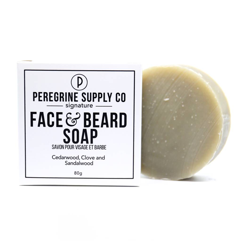Peregrine Supply Co Face and Beard Soap