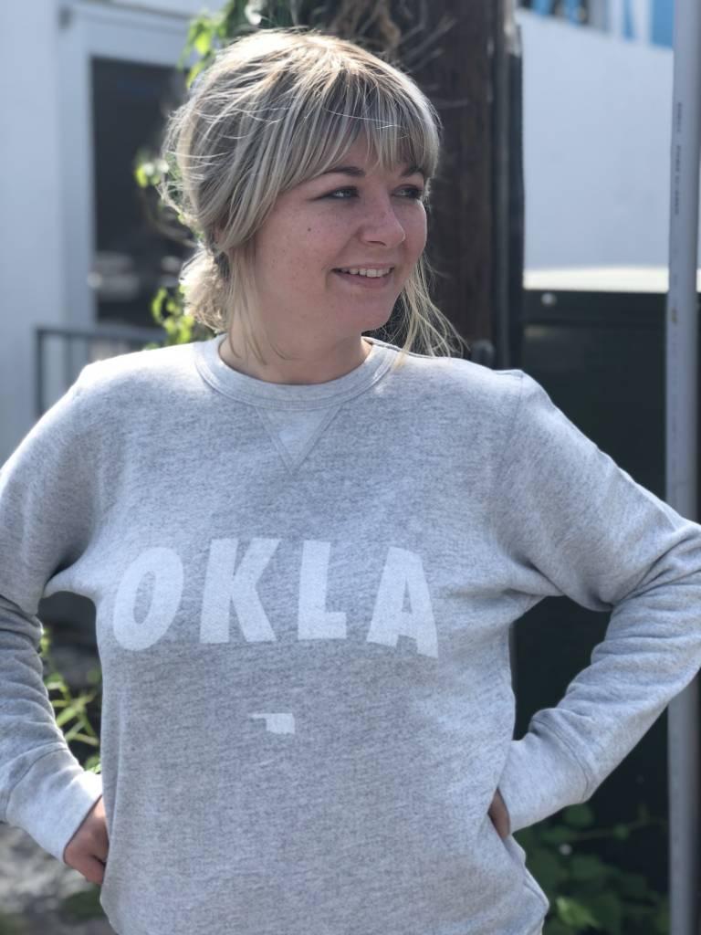 Ida Red OKLA Pullover Sweatshirt