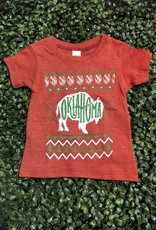 Ida Red Oklahoma Bison Ugly Sweater Kid's Tshirt