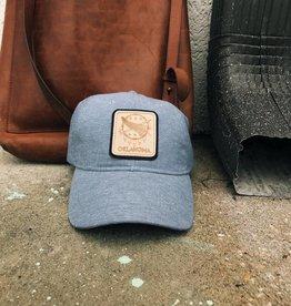 Ida Red Oklahoma Osage Shield Chambray Hat