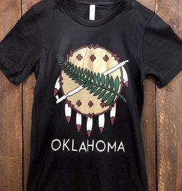 Ida Red Oklahoma Osage Shield Tshirt