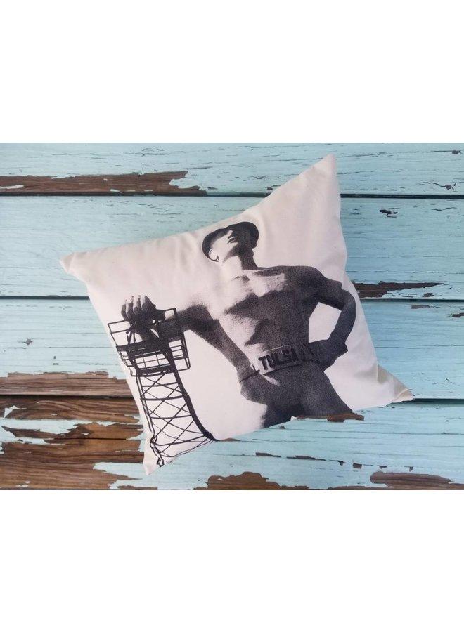 Driller Print Pillow