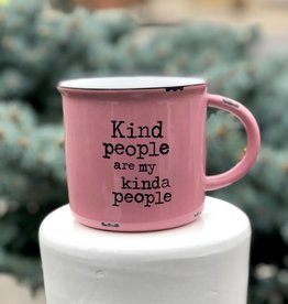 Glassware Kind People Camp Mug