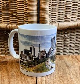 Ida Red Tulsa Skyline Full Color Wrap Mug