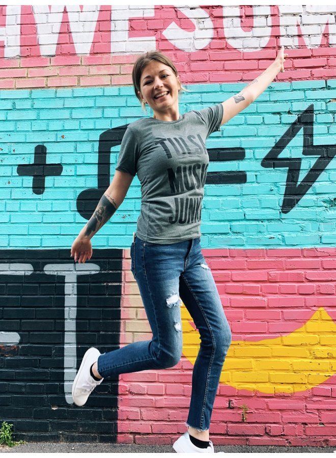 Tulsa Music Junkie Tshirt