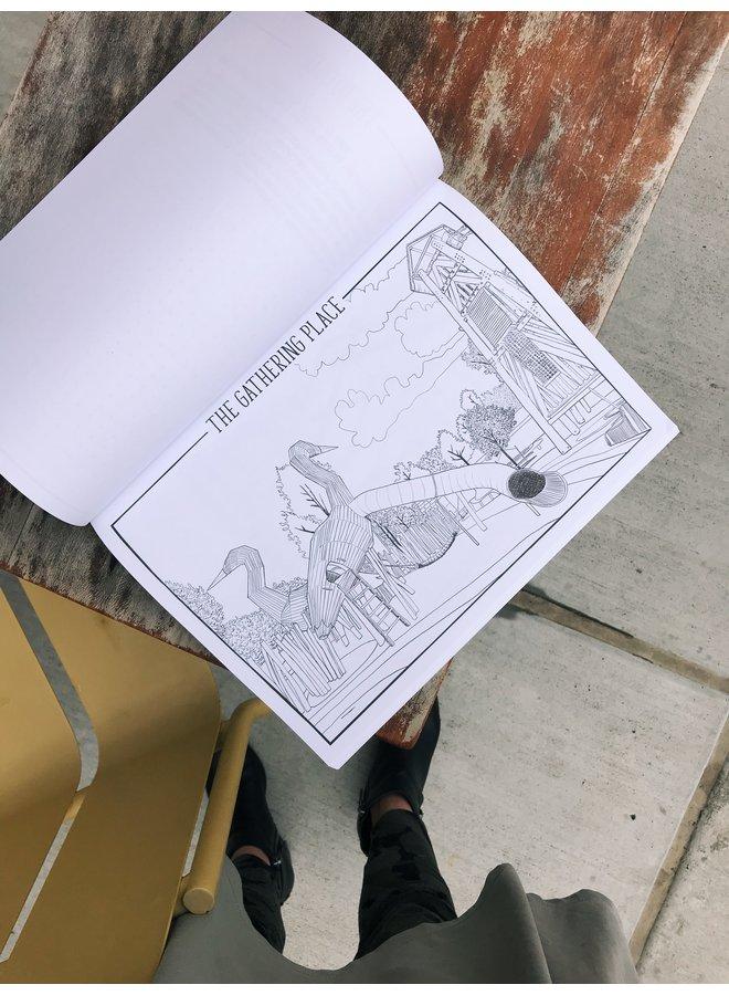Tulsa Coloring Book
