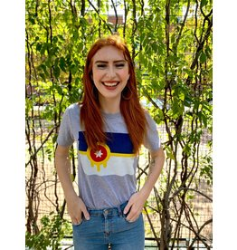 Ida Red Tulsa Flag Tshirt
