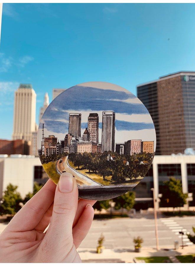 Tulsa Skyline Coaster