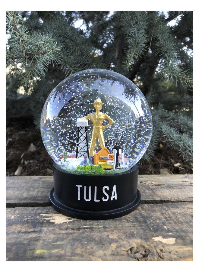 Midtown Tulsa Snow Globe