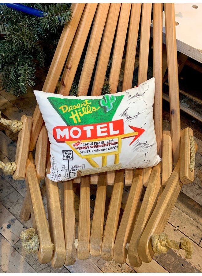 Desert Hills Motel Napper Pillow