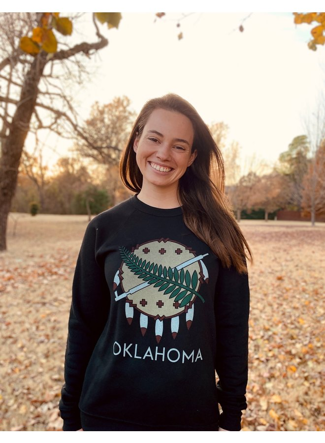 Oklahoma Osage Shield Sweatshirt