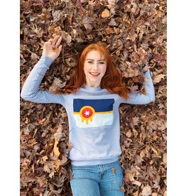 Ida Red Tulsa Flag Sweatshirt