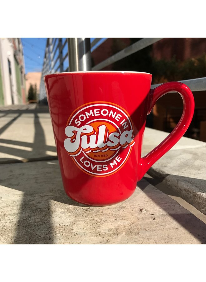 Someone In Tulsa Mug