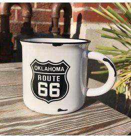 Ida Red Route 66 Distressed Mug