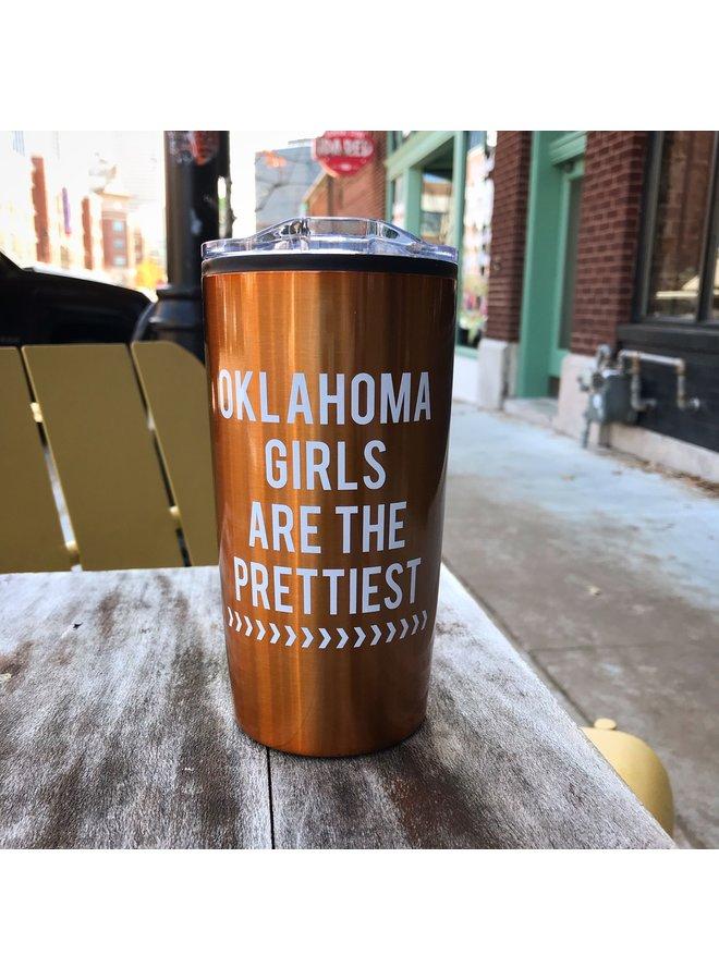 Oklahoma Girls Copper Trekster Tumbler