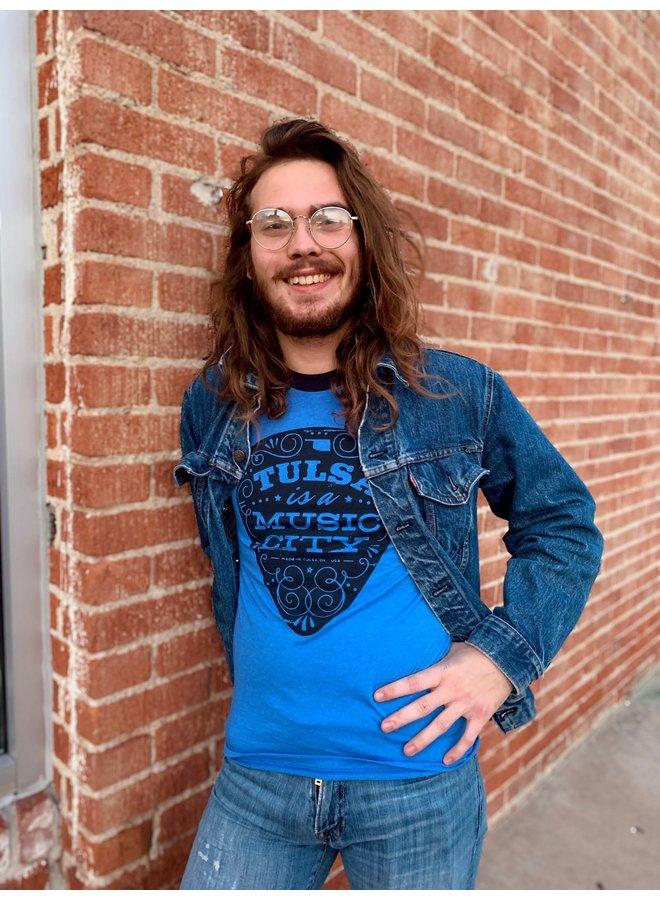 Tulsa Is A Music City Ringer Tshirt