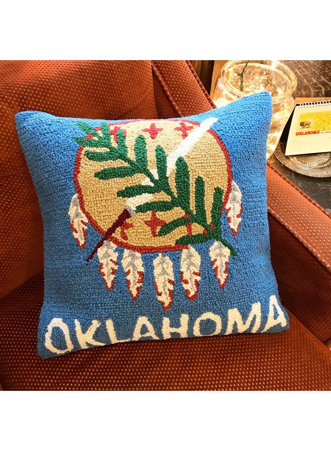 Oklahoma Flag Pillow