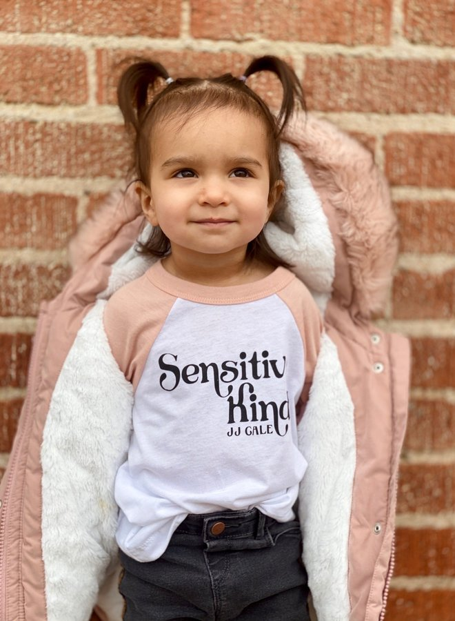 Sensitive Kind Toddler Baseball Tshirt