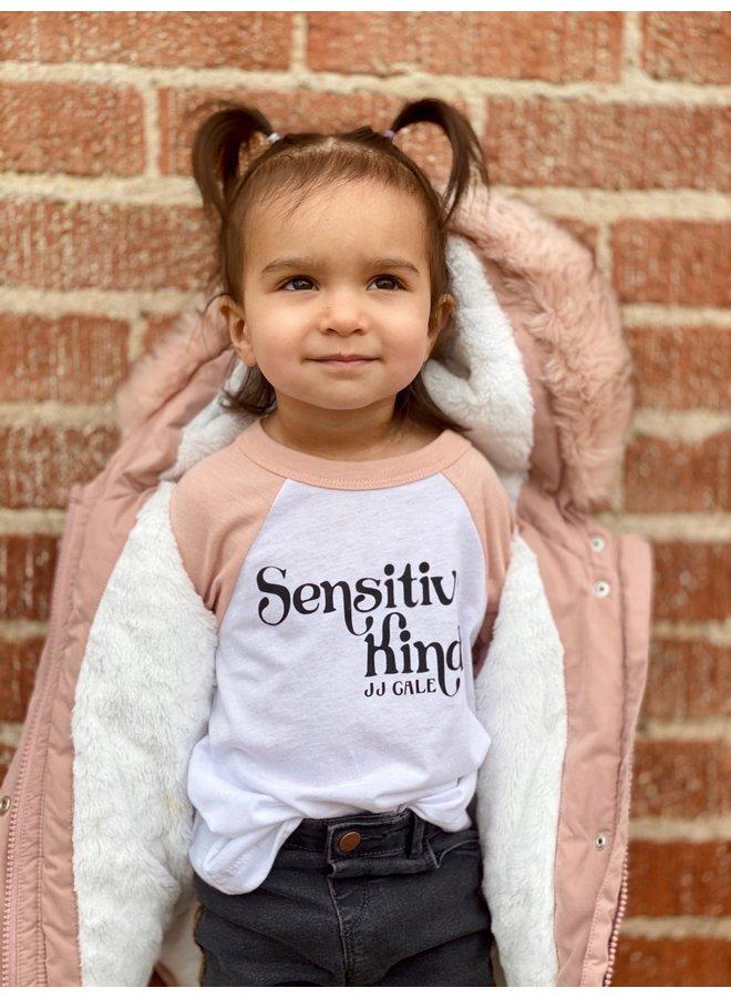 Sensitive Kind Toddler Baseball Tshirt