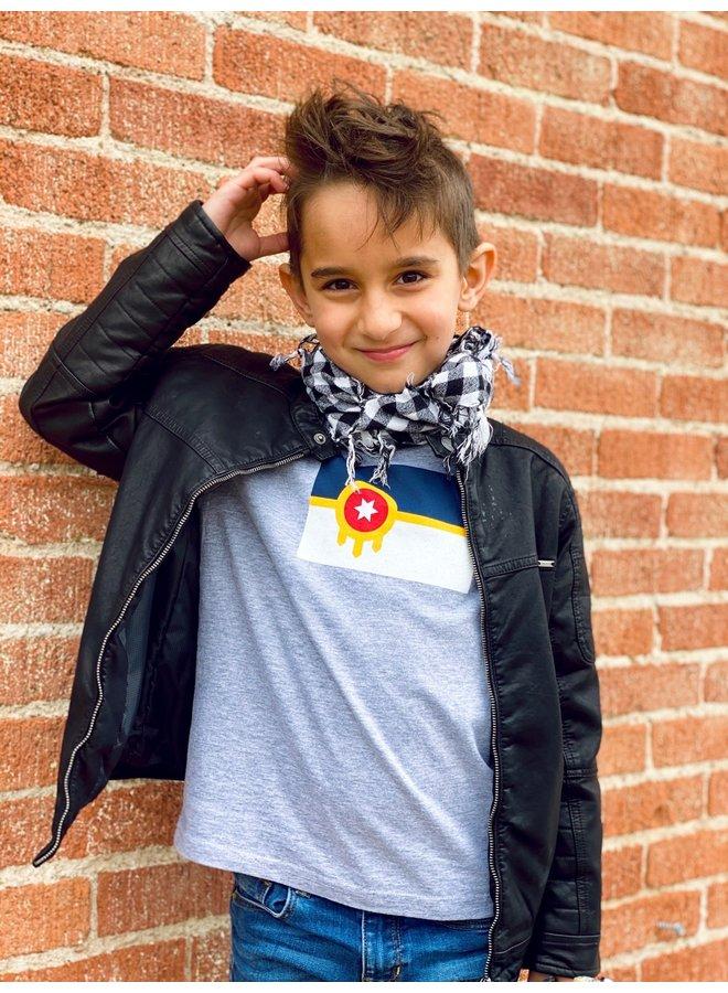 Tulsa Flag Youth Tshirt