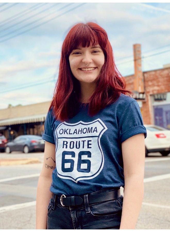 Oklahoma Route 66 Tshirt
